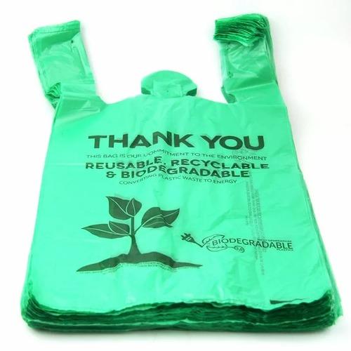 Biobased Biodegradable Plastic Shopping Bags