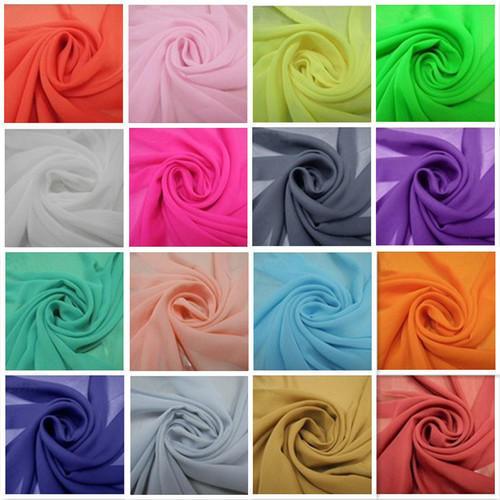 Exclusive Georgette Plain Fabric