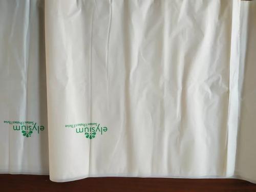 White Organic Biodegradable Garbage Bags