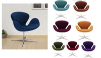 Bar Modern Chair With Stainless Steel Heavy Legs