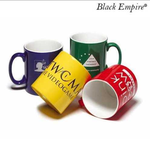 Decorative With Handle Printed Mugs