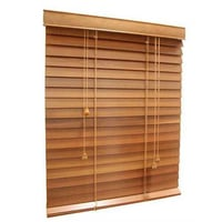 Manually Operated Wooden Venetian Blinds