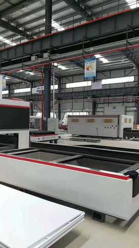 Industrial Laser Cutting New And Old Machine Installation