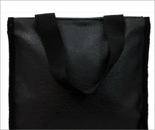 Black Color Lunch Bag