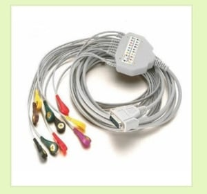 PU Material ECG Cables