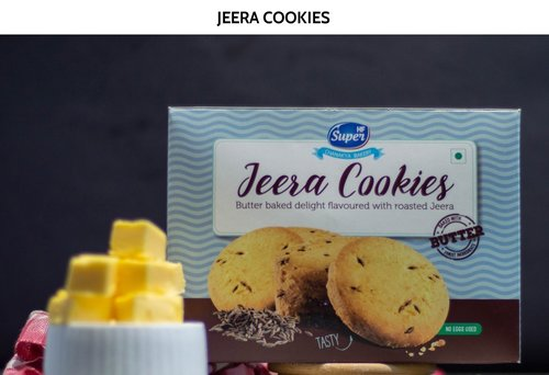 Butter Baked Delight Flavoured with Roasted Jeera Cookies