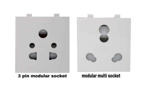 Electrical Modular Socket With Shutter
