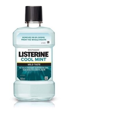 Listerine Antiseptic Coolmint Mouthwash Easy To Use