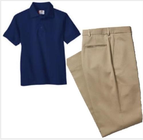 School Uniforms Set Pants And Shirt