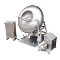 Silver Color Tablet Coating Machine