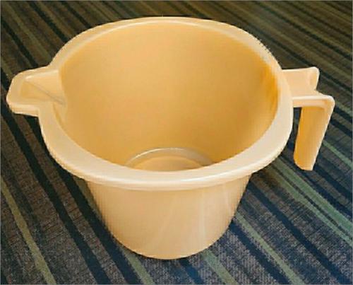 Bathroom Round Plastic Mug