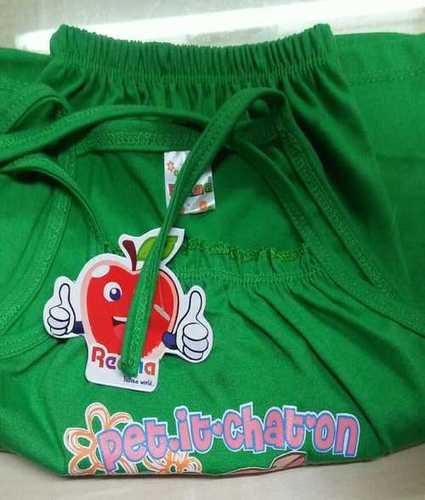 Cotton Printed Kidswear Dress