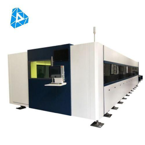 High Power CNC Metal Fiber Laser Cutting Machine