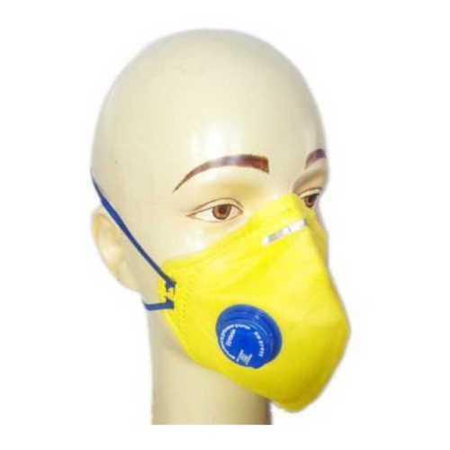 Light Weight Yellow Face Mask