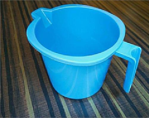 Plain Round Plastic Mug