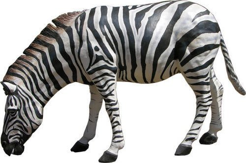 FRP Zebra Animal Statues