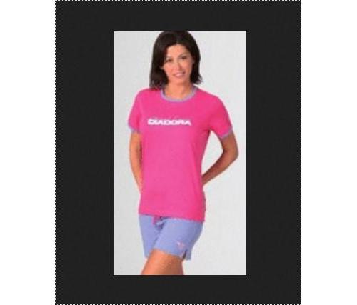 Ladies Half Sleeves Pink Color T-Shirt