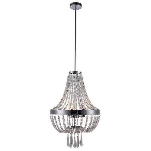 Modern Clear Crystal Pendant Lamp