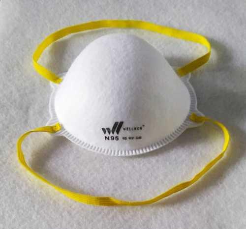 N95 White Face Mask
