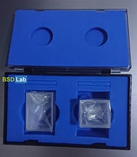 Spectrophotometer Glass Cuvette 40x28x26