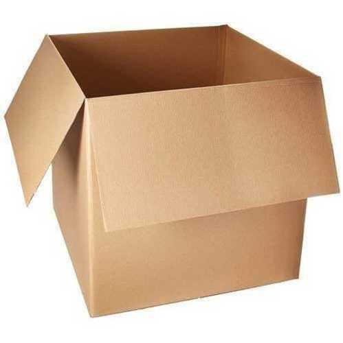 Brown Color Corrugated Board Box