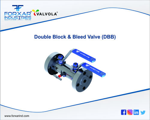 Double Block And Bleed Valve (Dbb)