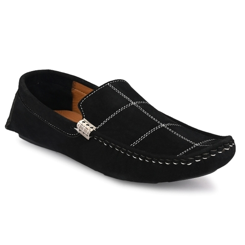 E Fashion Point B Driving Casual Shoes for Men (Black)