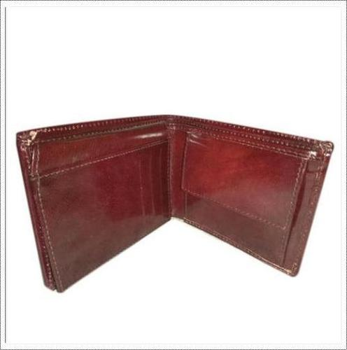 Foldable Mens Leather Wallet