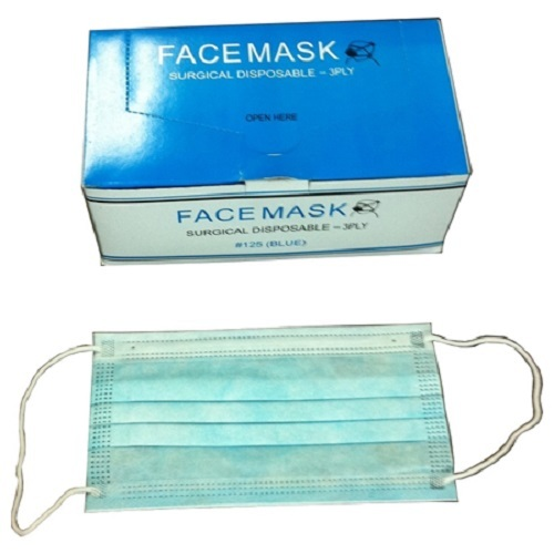 3 Ply Disposable Ear loop Face Mask