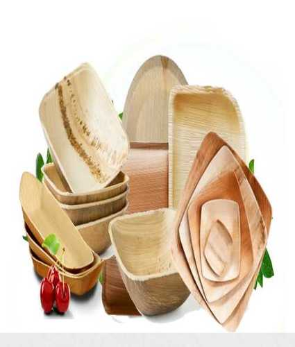 Bio Degradable Areca Leaf Plates