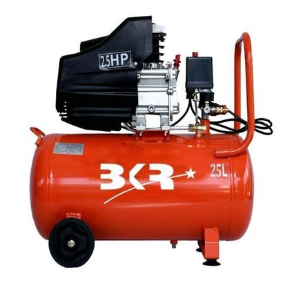 Lubricated Iron Portable Air Compressor