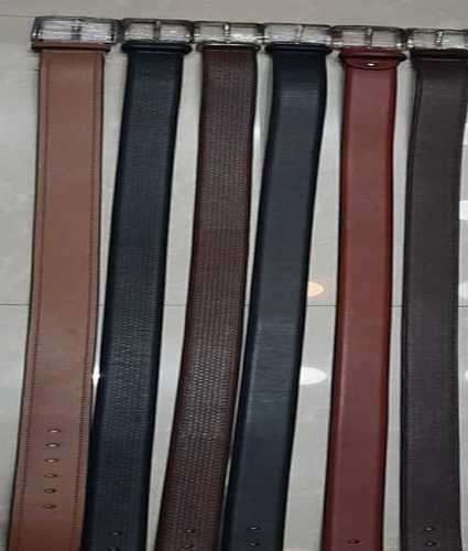 Mens Brown And Black Leather Belts
