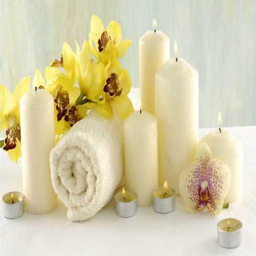 Piller Shape Aroma Candles