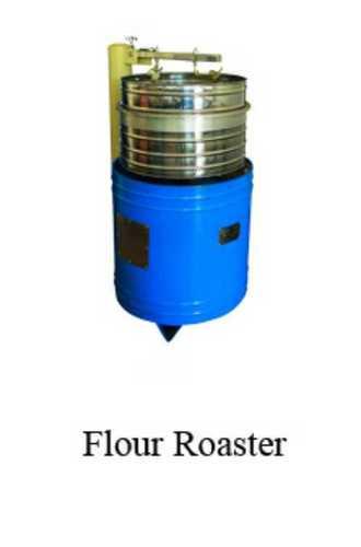 Round Automatic Flour Roaster Machine