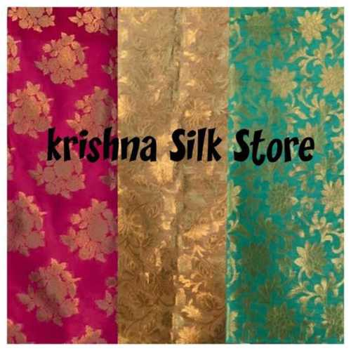 Shrink Resistance Embroidered Silk Sarees