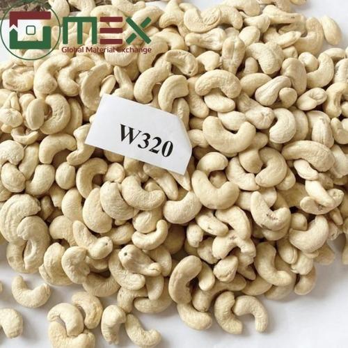 White Curve Cashew Nuts