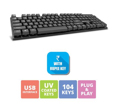 Zebronics Wired Keyboard K44