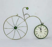 Antique Cycle Style Clock