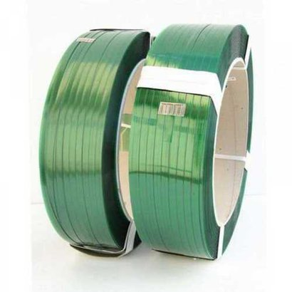 Easy To Use Green Color Pet Strap Roll