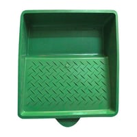 Green Roller Paint Tray