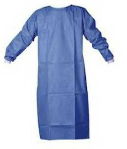 Blue Non Woven Surgical Gown
