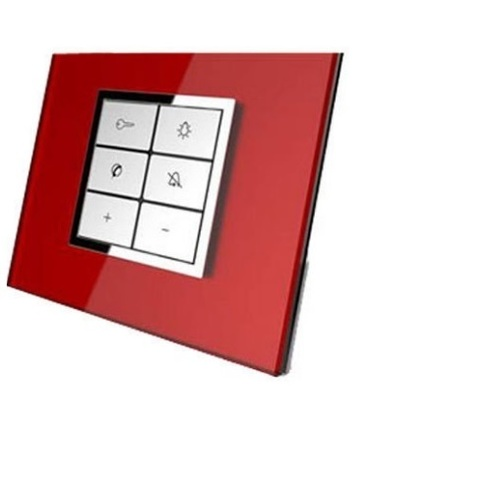 White Philips Modular Electrical Switches