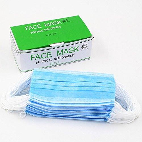Surgical Disposable Face Mask with Earloops
