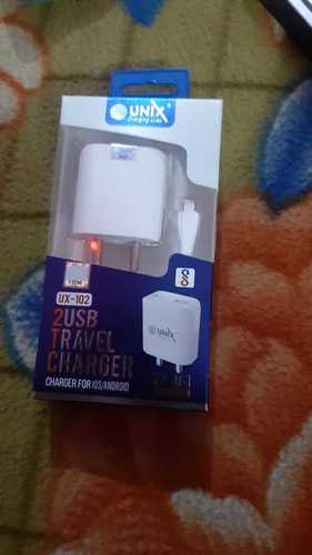 2 USB Travel Mobile Charger