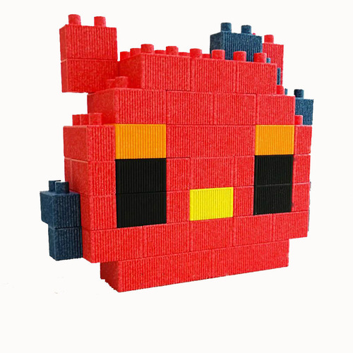 Children Building Foam Epp Blocks
