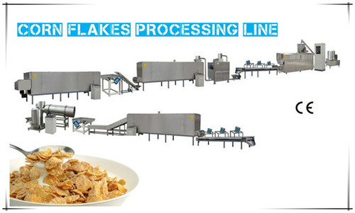 Corn Flakes Processing Line Machine