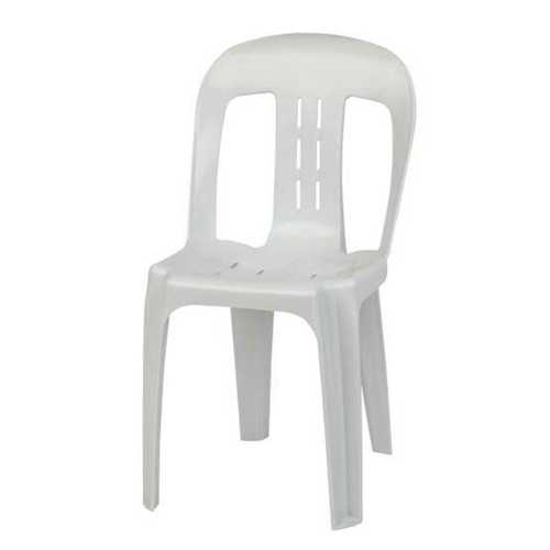 Crack Proof White Plastic Chairs