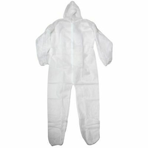 Disposable Laminated White Coverall