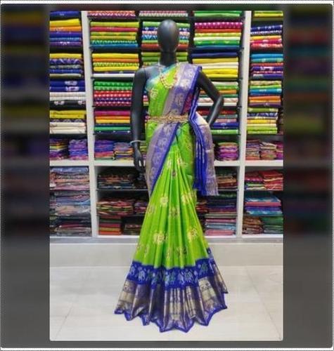 Elegant Design Ikkat Silk Sarees