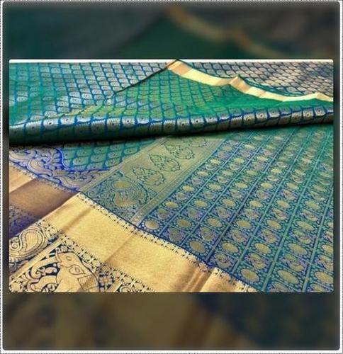Ladies Kanchipuram Handloom Silk Saree